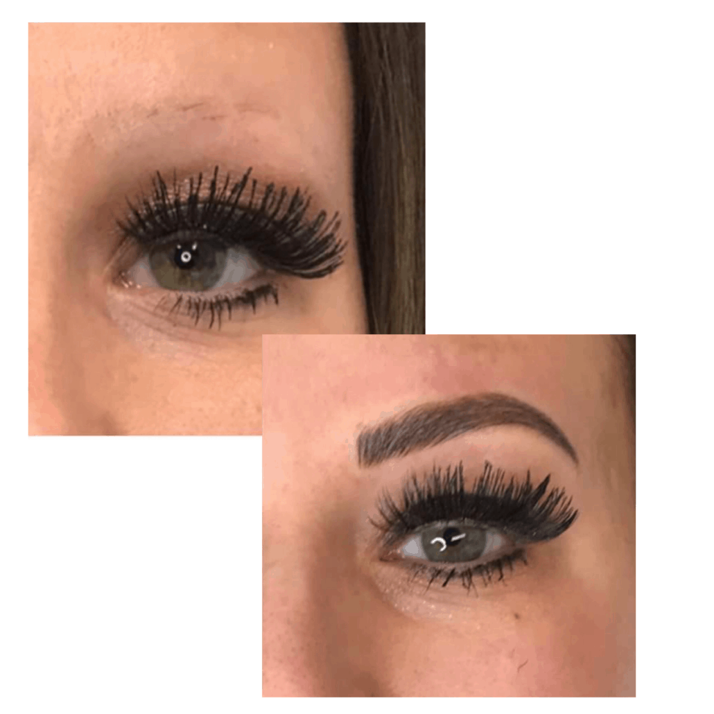 Microbladed Brows Before & After Essentials Medi Spa