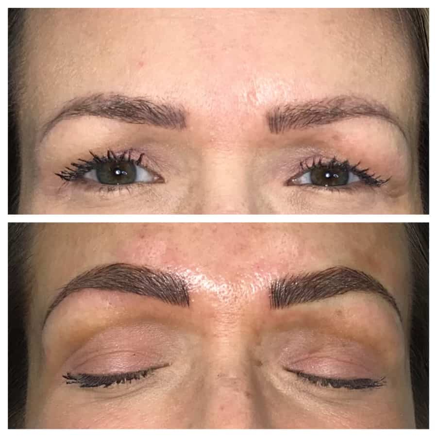 Annual Touch Up of Microbladed Eyebrows Essentials Medi Spa